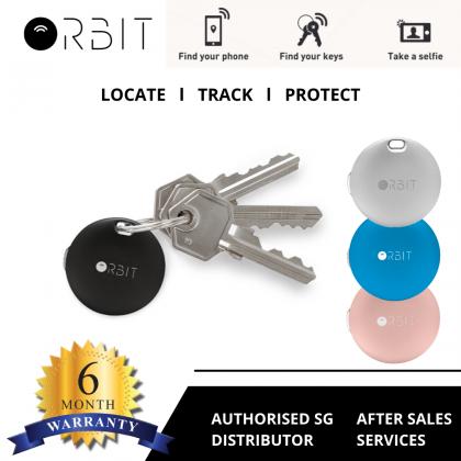 Orbit Key Bluetooth Tracker (Black/Silver/Rose Gold/Azure)