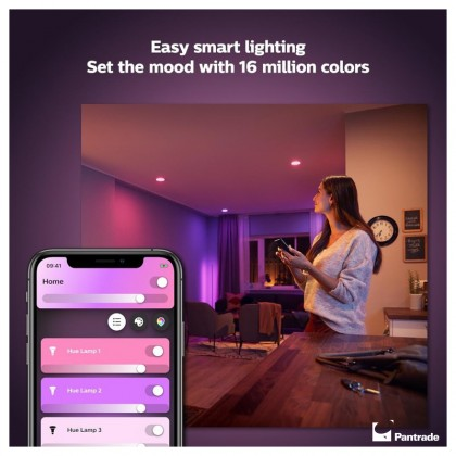 Philips Hue White and Color Ambiance GU10 bulb - Bluetooth