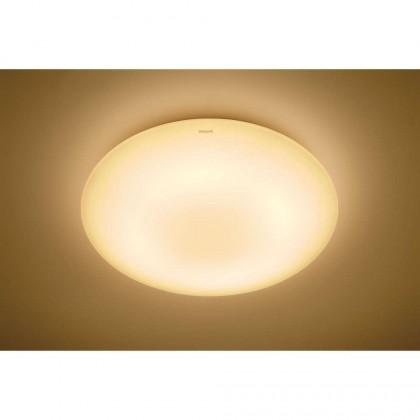 Philips 33369 Moire Round LED Ceiling Light 10W 2700K Warm White