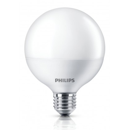PHILIPS 8.5W (70W) E27 Cool daylight Frosted Globe