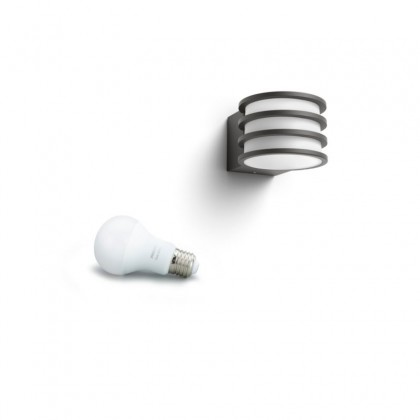 Philips Hue Outdoor Lucca Wall Light (Pre-orders only)