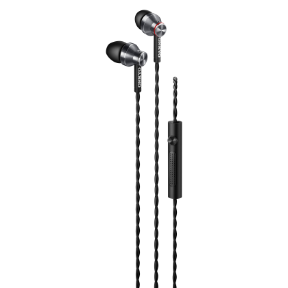 Onkyo E300M In-ear headphones with microphone (Black/White)